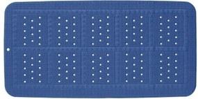 Badmat Antislip Sealskin Unilux PVC Royaal Blauw met Zuignappen 35x70cm