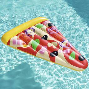 Ligbed drijvend Pizza Party 188x130 cm