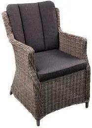 Terlizzi dining stoel Wicker HM40 naturel - stof 239