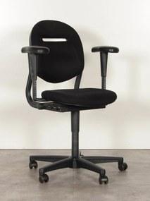 Bureaustoel 220, zwart, 3D armleggers