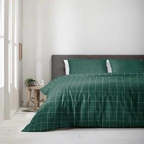 Fresh & Co Squared - Groen 1-persoons (140 x 220 cm + 1 kussensloop) Dekbedovertrek