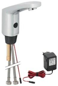 Geberit Hytronic 85 wastafelkraan voor koud en warm water IR 230V inclusief temperatuur regelkn 116.155.21.1