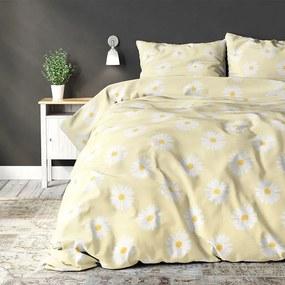 Sleeptime Elegance Madeliefje - Yellow 1-persoons (140 x 220 cm + 1 kussensloop) Dekbedovertrek