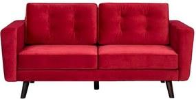 Bank Bristol 2-zits - rood - Leen Bakker