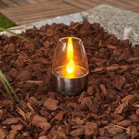 Decoratieve LED solar tafellampen Pedas, 10 stuks - lampen-24