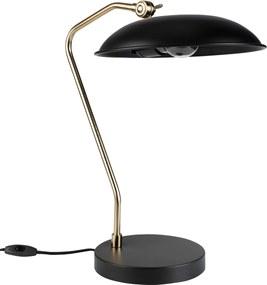 Dutchbone Liam bureaulamp zwart