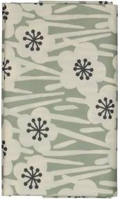 Tafelzeil 140x240 Polyester Bloem Grijs/zwart