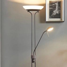 Yveta - roestkleurige LED plafondspot met dimmer - lampen-24
