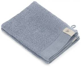 Walra Soft Cotton Washand set van 2 16x21cm 550 g/m2 Blauw 1218239