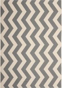 Safavieh | In- & outdoor vloerkleed Amalfi 200 x 300 cm grijs, beige vloerkleden polypropyleen vloerkleden & woontextiel | NADUVI outlet