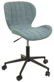 Zuiver OMG Office Blauwe Design Bureaustoel