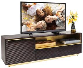 Kare Design Casino Lounge Tv-meubel Messing - 150x35x45cm.