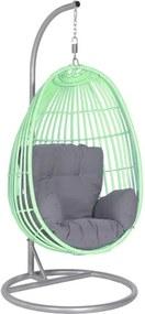 Hangstoel egg groen