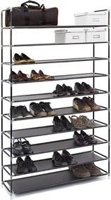Schoenenrek 50 paar schoenen - Zwart