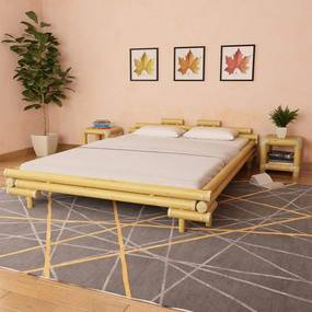 Medina Bedframe bamboe 160x200 cm