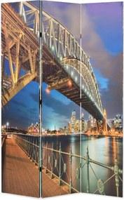 Kamerscherm inklapbaar Sydney Harbour Bridge 120x170 cm