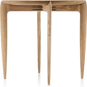 Fritz Hansen Foldable Tray Table bijzettafel naturel eiken