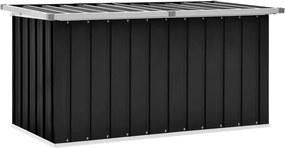 Tuinbox 129x67x65 cm antraciet