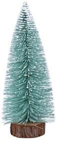 Kerstboom mint met sneeuwtips - M