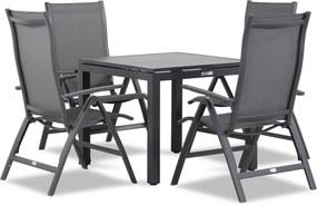 Famous Furniture Premium/Concept 90 cm dining tuinset 5-delig