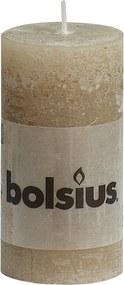 Stompkaars beige Rustiek 100 x 50 mm