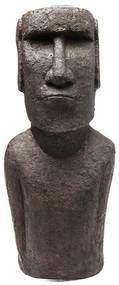 Kare Design Easter Island Beeld Moai Paaseiland 80 Cm