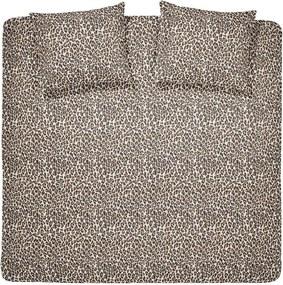 Damai dekbedovertrek Grouch - beige - 240x200/220 cm - Leen Bakker