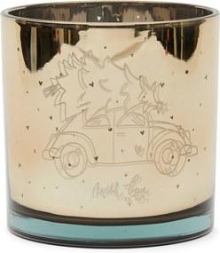 Rivièra Maison - RM Christmas Car Hurricane gold - Kleur: goud