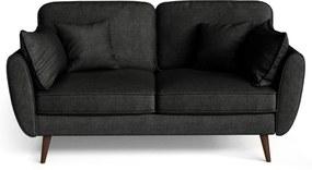 My Pop Design | 2-Zitsbank Auteuil afmetingen (cm): breedte 164 x diepte 93 x hoogte zwart zitbanken - frame: versterkt | NADUVI outlet