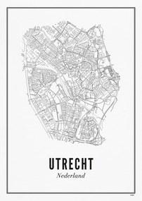 WIJCK Utrecht Stad print