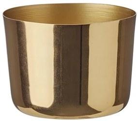 Sfeerlichthouder - 7 X 9 Cm - Goud (goud)