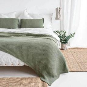 Sprei / Plaid groen, Lazy Morning