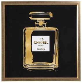 Kare Design Fragrance Vierkant Schilderij Chanel No. 5 - 115 X 115 Cm