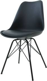 Essence Poluga eetkamerstoel - Metalen onderstel- Tenzo Porgy - Vitra DSR - Spin - Feliz - Design - Kuipstoel - Modern