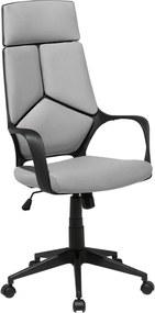 Bureaustoel zwart/grijs DELIGHT