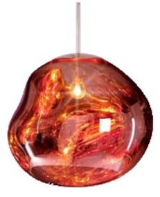 Hanglamp Sanimex Njoy Met E27 Fitting 20 cm Inclusief 4W Lamp Glas Rose Goud
