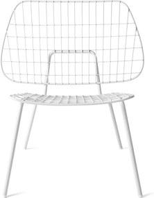 Menu WM String fauteuil wit set van 2