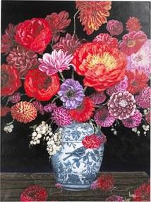 Kare Design Touched Flower Explosion Bloemenvaas Schilderij