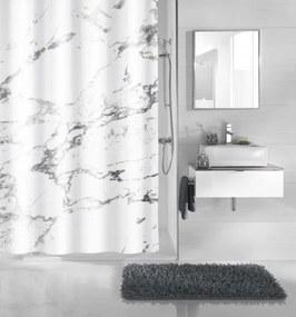 Marble douchegordijn 180x200 cm, antraciet