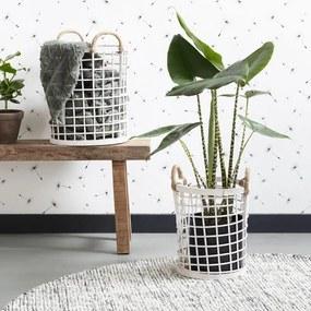 Bamboe Manden Set - Wit
