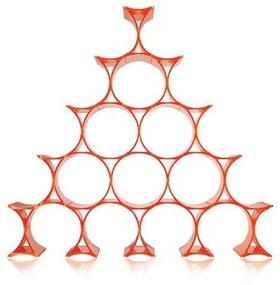 Kartell Infinity wijnrek oranje
