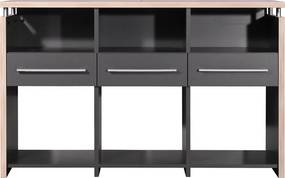 Germania Duo Archiefkast Antraciet - 123x40x75cm.