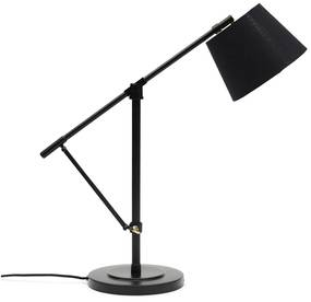 Rivièra Maison - Rockefeller Desk Lamp black - Kleur: zwart