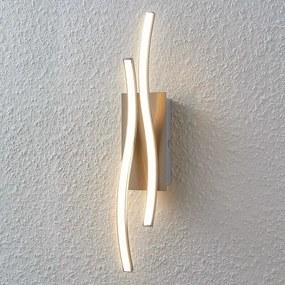 LED wandlamp Safia in golfvorm - lampen-24
