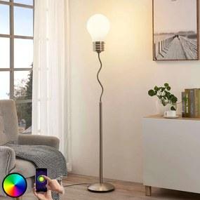 Smart LED-RGB-vloerlamp Mena - lampen-24
