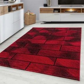 Vloerkleed Mattone - Rood - Rechthoek Beta Patroon, Modern 80 x 150 cm - Ga naar Dekbed-Discounter.nl & Profiteer Nu