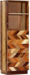 Hoge kast 40x32x122 cm massief gerecycled hout