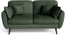My Pop Design | 2-Zitsbank Auteuil afmetingen (cm): breedte 164 x diepte 93 x hoogte donkergroen zitbanken - frame: versterkt | NADUVI outlet