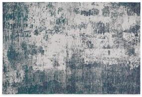 Genna vloerkleed, 160 x 230 cm, petrolblauw