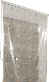 Rolgordijn 128x240 cm, koper